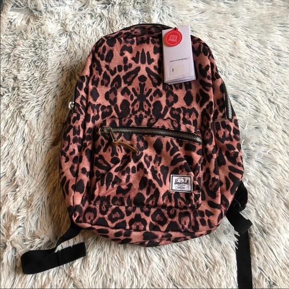 NWT Herschel Supply Co Leopard Backpack 31afe62e56754